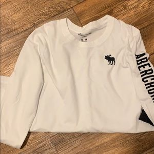 2 long sleeve Abercrombie kids shirts